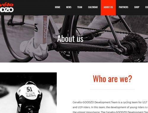 Translation website Cervélo-GOODZO
