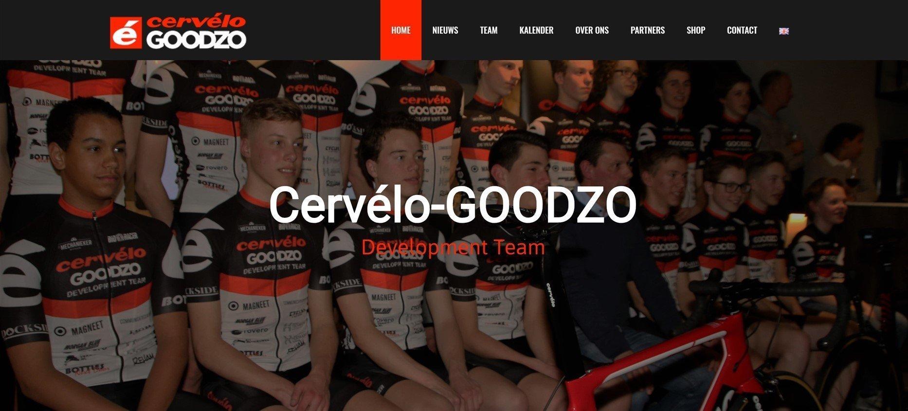 Website Cervélo-GOODZO
