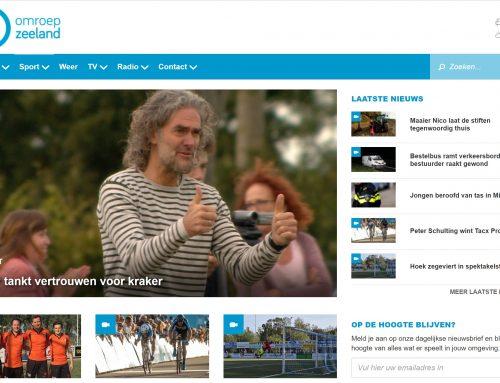 Sports coverage Omroep Zeeland