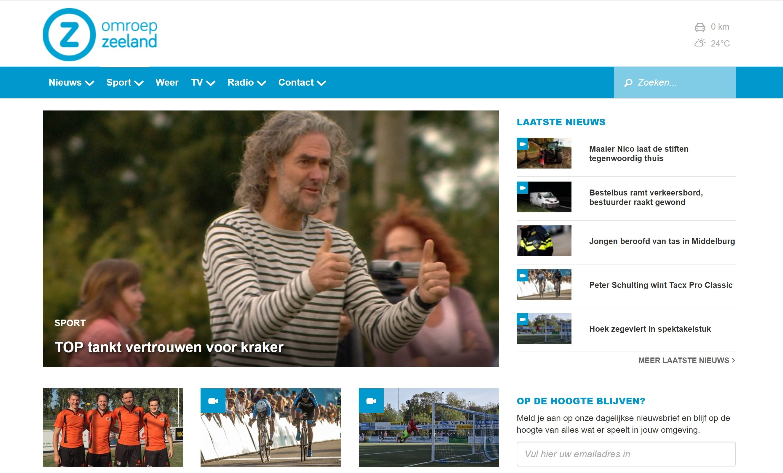 Sportverslaggeving Omroep Zeeland