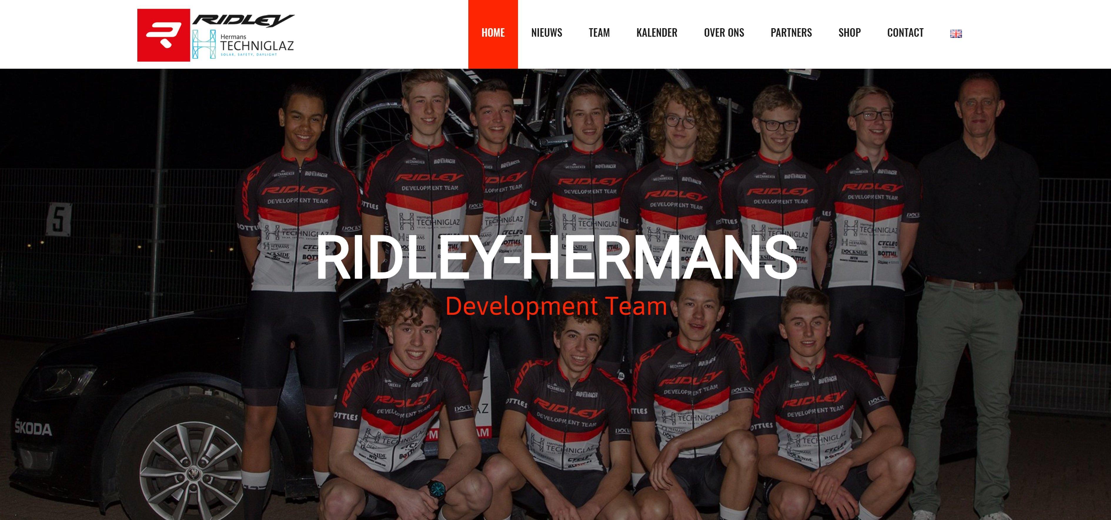 Website Ridley-Hermans
