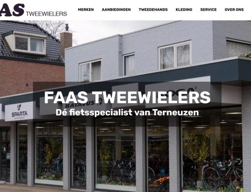 Website & fotografie Faas Tweewielers