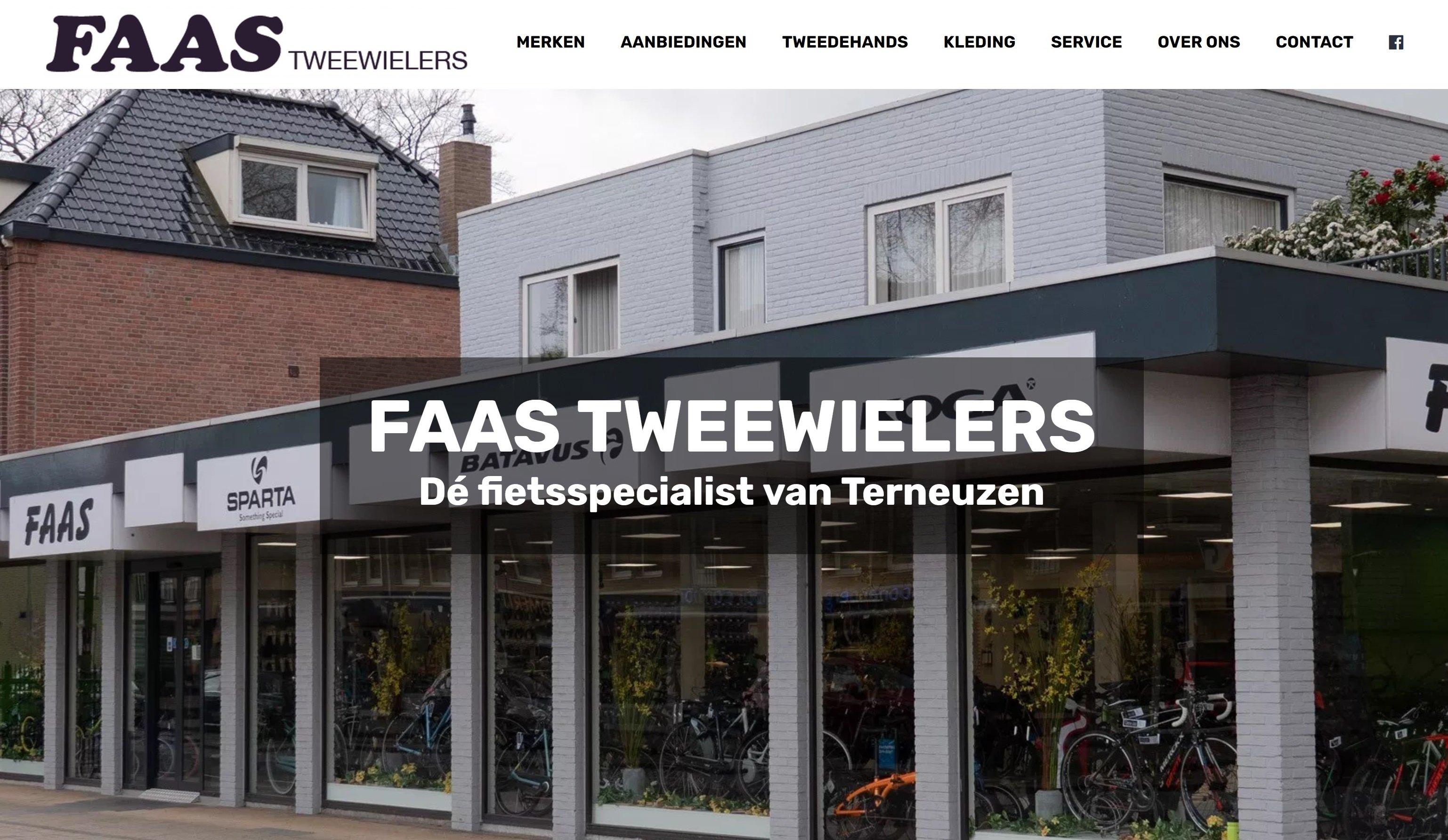 Website & fotografie Faas Tweewielers